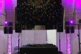 Sonorisation avec six points de diffusion & mise en lumière d'ambiance et dynamique pour 780 personnes @ Salle Grenier Saint Jean  Angers pour L'EDEME avec un Dj set de mon collaborateur Christophe (Fox) le 7/03/17 Angers Maine et Loire 49