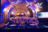 Mariage de Marion & Vivien, sonorisation pour le cocktail et la salle de repas avec assistances technique &  coordinations des animations. Mise en lumière d'ambiance sur le thème des étoiles & animation Dj set le 16/12/17 @ Château de la Perrière. Angers