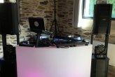 Mariage de A-L & F le 2/6/18 @Manoir Sainte Marie avec mise en lumière d'ambiance pour la salle de dîner par 10 projo led sans fil, assistance technique des animations, vidéo-projecteur & Animation Just dance & Dj set. DJ Angers DJ Maine et Loire DJ 49